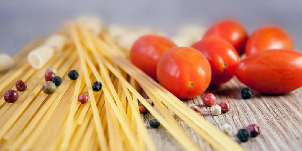 Spaghetti sind in vielen Ländern mit Folsäure angereichert